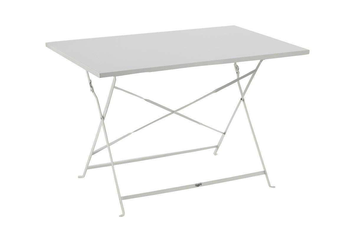 utiliser table pliante rectangulaire